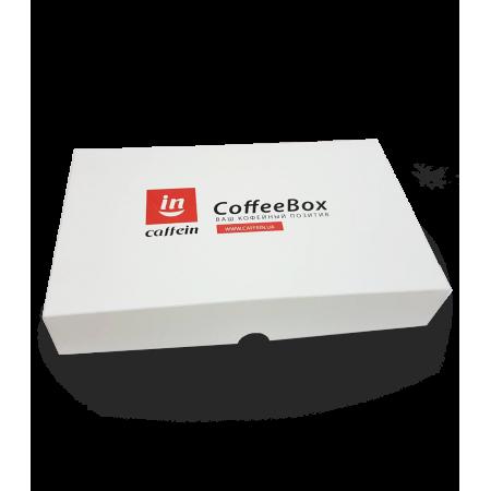 Подарочный набор Caffein CoffeeBox Арабика 4 x 120 г - фото 1