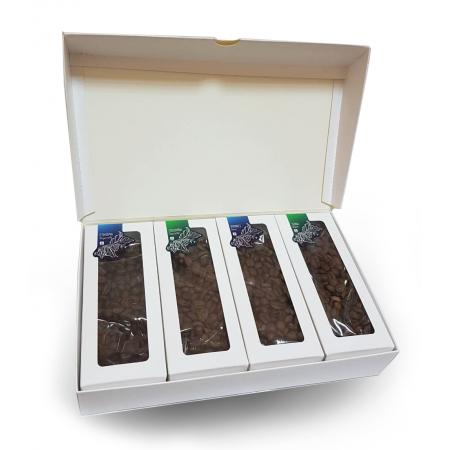 Подарочный набор Caffein CoffeeBox Арабика 4 x 120 г - фото 2