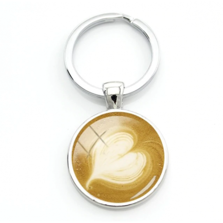 Брелок темпер, брелок кофе. - фото 4